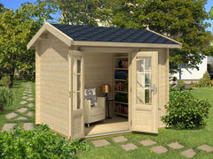 Concord 50 Sq.ft Teenage Cabin by Whole Wood Cabins - Kids Playhouse World