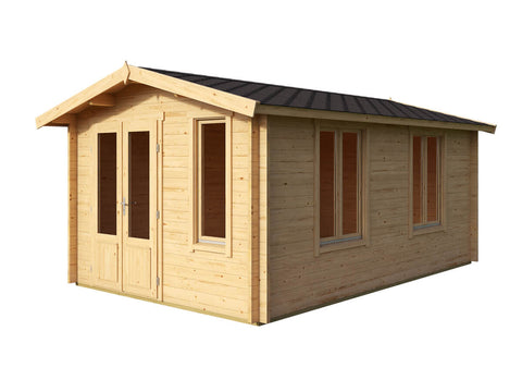 Fort Knox 148 Sq.ft Teenage Cabin by Whole Wood Cabins - Kids Playhouse World