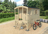 Image of Hagan (10X6 ft) Playhouse by Whole Wood Cabins - Kids Playhouse World