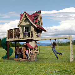 Monkey Mansion by Daniels Woodland - Kids Playhouse World