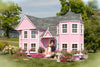 Image of Sara's Victorian Mansion Playhouse by Little Cottage Co. CALL 773-683-3399 SEE IF YOU ARE ELIGIBLE TO HAVE $500 OFF PURCHASE - Kids Playhouse World