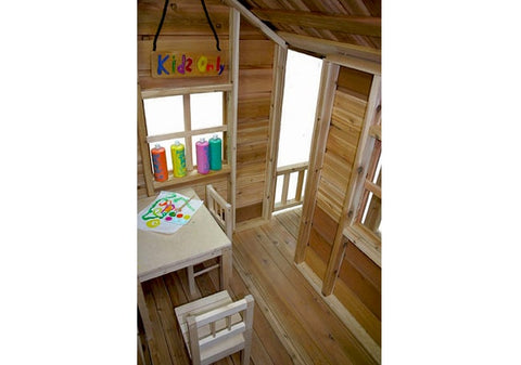 6x6 Little Squirt Playhouse by Outdoor Living Today. CALL NOW AND SEE IF YOU QUALIFY FOR $200 OFF TODAY. 773-683-3399 - Kids Playhouse World