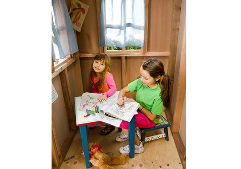 Little Squirt 6x6 Playhouse & Sandbox by Outdoor Living Today - Kids Playhouse World