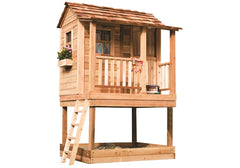 Little Squirt 6x6 Playhouse & Sandbox by Outdoor Living Today