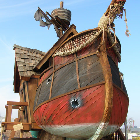 Scallywag Sloop by Daniels Woodland - Kids Playhouse World