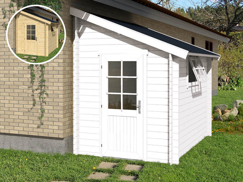 Sanibel 51 Sq.Ft Teenage Cabin by Whole Wood Cabins - Kids Playhouse World