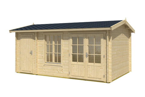 Savanah 150 Sq.Ft Teenage Cabin by Whole Wood Cabins - Kids Playhouse World