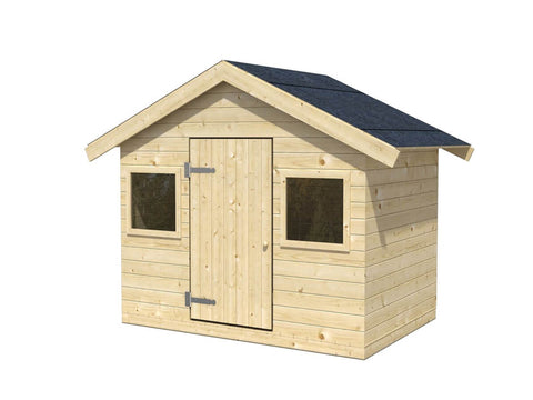 Toby 53 Sq.Ft Playhouse by Whole Wood Cabins - Kids Playhouse World
