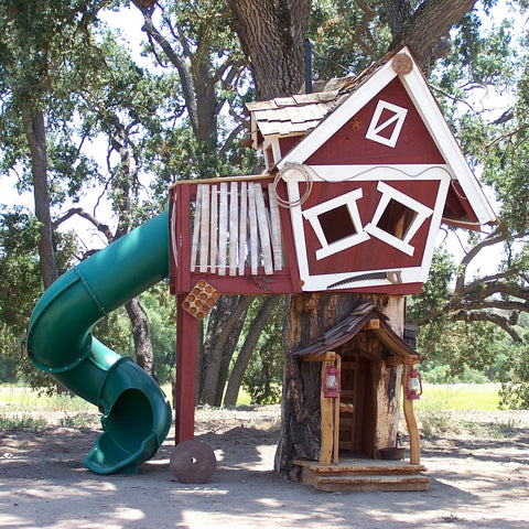 Tommy's Turbo Terrace by Daniels Woodland - Kids Playhouse World