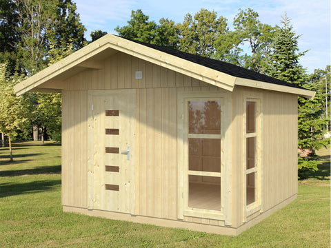 Winchester 110 Sq.Ft Teenage Cabin by Whole Wood Cabins - Kids Playhouse World