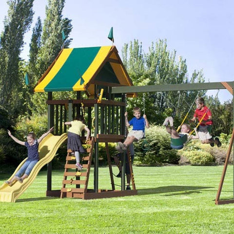 Childhood Treasure Play-set by Champ Craft Play-sets - Kids Playhouse World