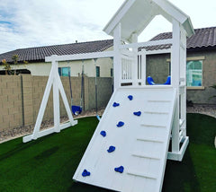 The Hideout Backyard Swing Set by Ruffhouse Play System