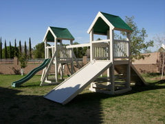 The Palace Backyard Swing Set by Ruffhouse Play System