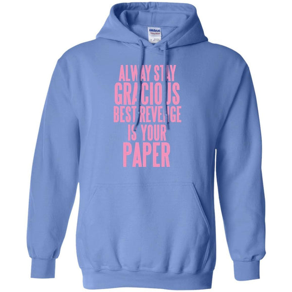 Hoodie 8 oz always stay gracious pullover little penny for Gracious home promo code