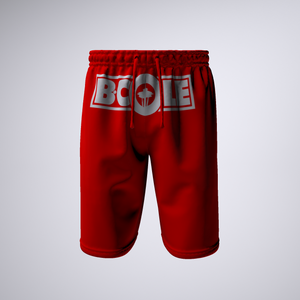 "B. Cole ""Classic"" Shorts - Red/White"