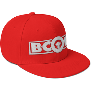 "B. Cole ""Classic"" Snapback - Red/White"