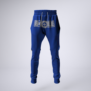 "B. Cole ""Classic"" Joggers - Royal Blue/White"