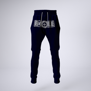 "B. Cole ""Classic"" Joggers - Navy Blue/White"