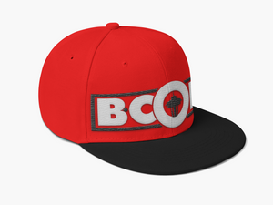 "B. Cole ""Classic"" Snapback - Red/White/Black"