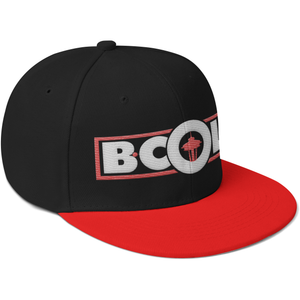 "B. Cole ""Classic"" Snapback - Black/Red/White"