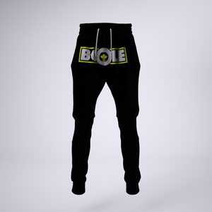 "B. Cole ""Classic"" Joggers - Black/Yellow"