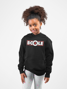 "B. Cole ""Youth"" Hoodie - Black/White/Red"