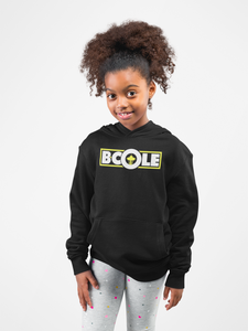 "B. Cole ""Youth"" Hoodie - Black/White/Yellow"