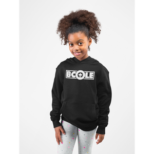 "B. Cole ""Youth"" Hoodie - Black/White"