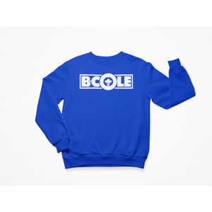 "B. Cole ""Classic"" Crew - Royal Blue/White"