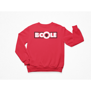 "B. Cole ""Classic"" Crew - Red/Black/White"