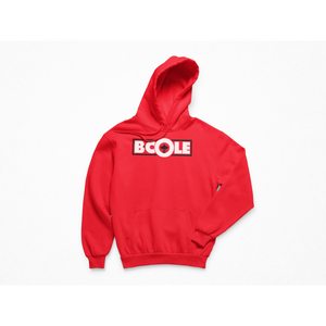 "B. Cole ""Classic"" Hoodie - Red/White/Black"