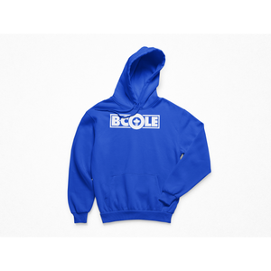 "B. Cole ""Classic"" Hoodie - Royal Blue/White"