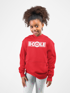 "B. Cole ""Youth"" Hoodie - Red/White"
