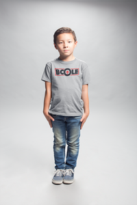 "B. Cole ""Youth"" Tee - Sport Grey/Black/Red"