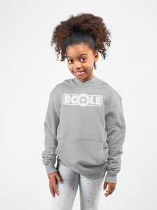 "B. Cole ""Youth"" Hoodie - Sport Grey/White"
