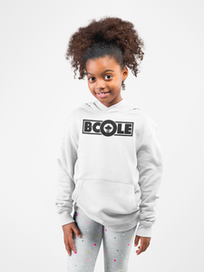 "B. Cole ""Youth"" Hoodie - White/Black"