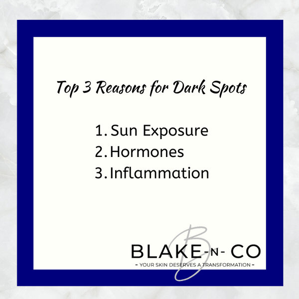 What Causes Dark Spots?