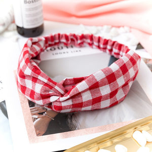 2019 NEW Summer Chiffon Headband Women Hair Accessories Turban Twist Cross Hairband Headwrap Girls Flower Striped Knot Hair Band - PrintiLya