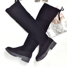 Load image into Gallery viewer, women's boots autumn and winter new over the knee boots sleek