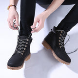 Warm Fur Plush Women Lace-up Ankle Boots