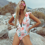 Ashgaily 2019 New One Piece Swimsuit Sexy Cartoon Printed Swimwear Women Bathing Suit Beach Backless Monokini Swimsuit Female - PrintiLya