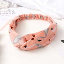 Load image into Gallery viewer, 2019 NEW Summer Chiffon Headband Women Hair Accessories Turban Twist Cross Hairband Headwrap Girls Flower Striped Knot Hair Band - PrintiLya