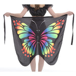 2019 Spring swiming Skirt For Women Summer Butterfly Printed Beach Skirts chiffon Beach Bohemia Cover Up Skirt Wrap Women Cloth - PrintiLya