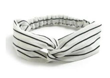 Load image into Gallery viewer, Women Striped Cotton Hair Bands Hair Accessory