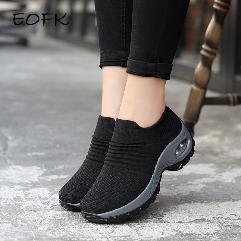 Woman Flats Fall Casual Black Ballet Shoes