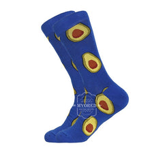 Load image into Gallery viewer, Comfortable pair roller skateboard for causal reason funny wedding socks shark geometry - PrintiLya