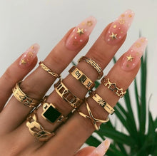 Load image into Gallery viewer, Rings Boho for Women Geometric Fashion Jewelry 2020