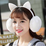 Female Winter Earmuff Warm Ear Muffs Headphones Girls Earmuffs High Quality Cat Shape Earmuff For Women Earmuff Protection Ear