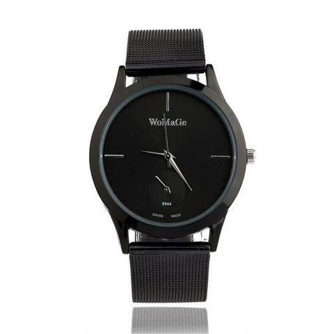 Fashion Alloy Mesh Belt Watch Style Quartz