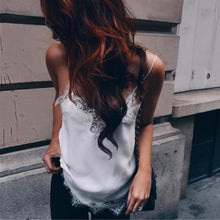Load image into Gallery viewer, New Fashion Camisoles Women White Black Lace - PrintiLya